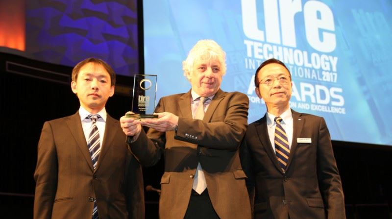 "FALKEN GUMMITEKNOLOGI VINNER ""TIRE TECHNOLOGY OF THE YEAR AWARD"""